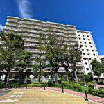 横浜パークタウンF棟外観